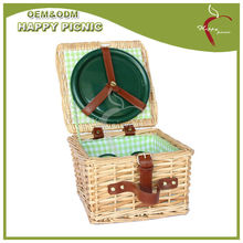 Wholesale four persons natural color Wicker Basket