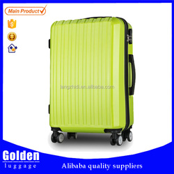 Alibaba wholesale PC+ABS travel trolley case, luggage case for girls and children