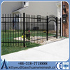 High quality metal Outdoor security wrought iron fence