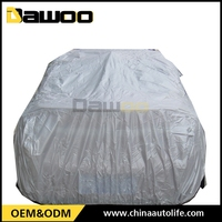 Promotion Portable Cotton Fabric PEVA Waterproof UV protection Car Cover