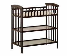 201new design baby furniture wholesale classic style bamboo/wood baby changing table