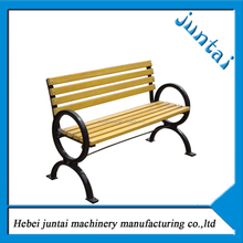Outdoor long wood benches,modern leisure chair