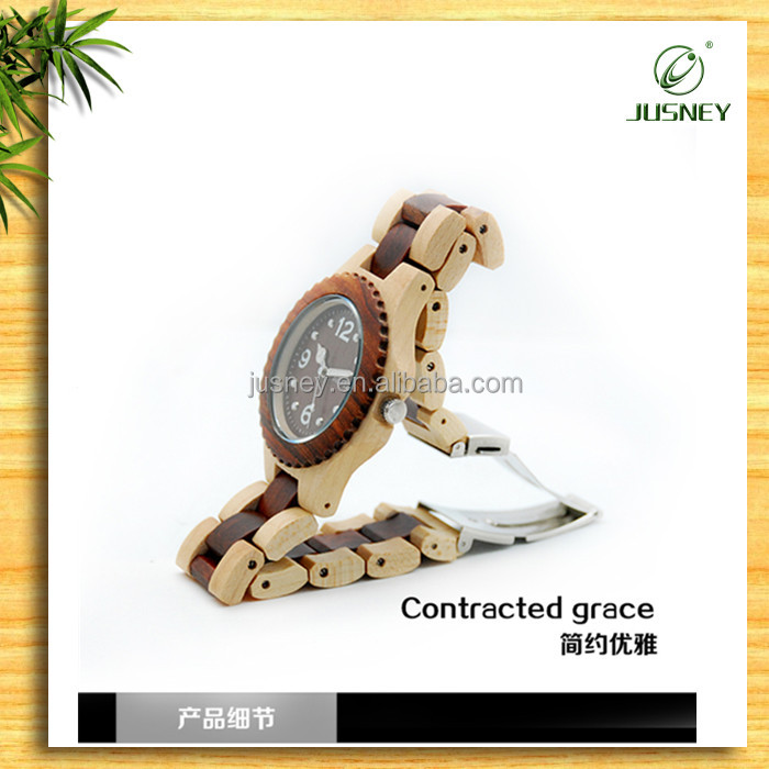 fashion vogue ladies watch liquidation sale ,wooden lady watch /wrist watch for men