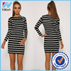 OEM manufacturers Yihao Wholesale Chinese manufacturer Wholesale long Sleeves stripe casual dress