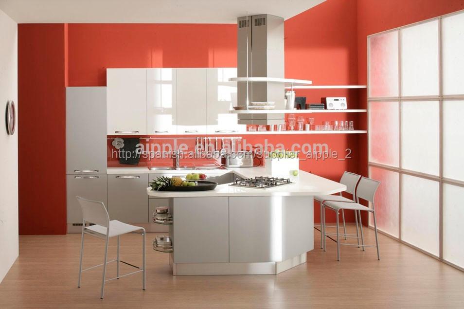 Bastante rojo gabinete de la cocina pkc180ArmariosGabinetes Cocina