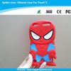 Spider-Man Pattern Silicone Case for iPod touch 5