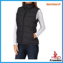 2015 Down Vests Womens Quilted Puffer Vests for Women Wearing Jacket