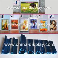 Super Thin Aluminum Frame Display Picture Frame Led Light Box