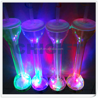 LED Beer Yard Glass with CE,RoHS