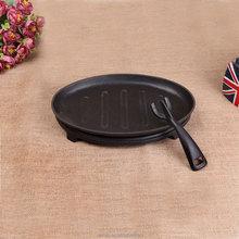 Cast Iron Sizzler Plate,Cast Iron Steak Plate,Cast Iron Cookware