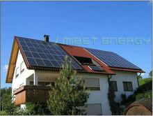 ajustable solar techo sistema de montaje para el azulejo del techo