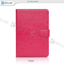 pu leather removable tablet case for ipad mini 3 with card holder