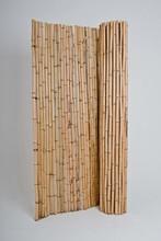 200x200 cm Mahogany Bamboo Fences