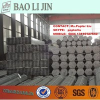 pre-galvanized hollow section steel , gi pipe