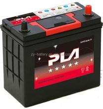 12V Maintenance free car battery 46B24 12V 45AH