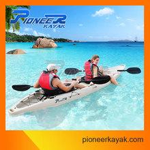 En plastique coque matériau Double Kayak