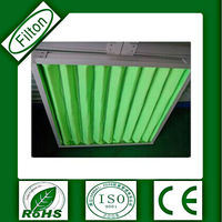 High airflow filton manufacturer washable panel air filter with low price