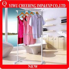 Wholesales PVC Metal Shop Clothes Hanger Stand