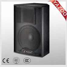 YAZOO hot sale Martin style F15 400W 8ohm 15inch cheap high-quality professional passive stage speaker with black paint