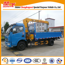 DFAC 4x2 5 tons truck crane with Cheap Price For sales