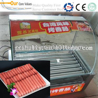 7 rollers rolling hot-dog grill/ hot dog grill roller//0086-15838159361