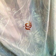 US curtain wholesale fantastic embroidered popular sheer curtain