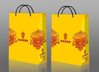 Customized paper bag for brand clothing packaging