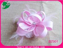 De excelente calidad Flor del tocado hecho de mano
