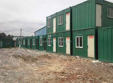 Cheap price steel structure prefabricated portable mobile toilet for sale