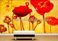 flores de papel tapiz para paredes