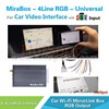 Newest mirabox fit for any car wholesale manufacturer car dvd citroen c4