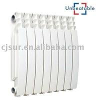 Round Whole Die Casting Aluminium Radiators for HVAC system boiler