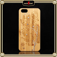 Diamond Wood Water Proof For Iphone 5 Case