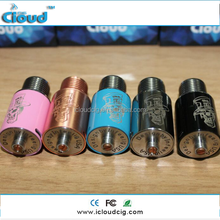 icloudcig 22mm diameter mad hatter rda, 510 thread 3 posts Mad hatter RDA with peek insulator