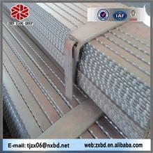 china manufacture hot sale Serrated flat steel /flat bar /flat steel bar