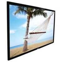 Fixed Frame screen with black velvet
