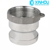 High quality threaded A type quick connector stainless steel male coupling