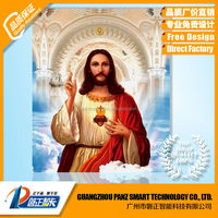2015 Christ 3D picture GOD and Virgin Mary for Religion or home decoration