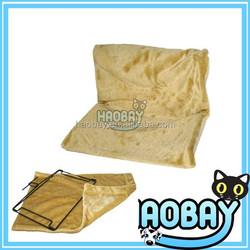 Metal frame pet products & Plush Cat Dog Radiator Bed