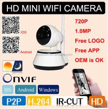 special offer!!! ip camera module home P2P 720p ip camera night vision wifi ip camera