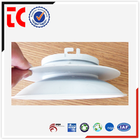 Aluminum die casting producer in China Round white painting custom made aluminum die casting lamp box with high quality