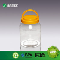 food grade empty jar bullk fancy jar for cookie jam toy packing wholesaler pet jar for candy packing