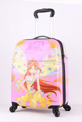 favorable favorable price and cute, cartoon pc luggage /trolley luggage /children cartoon luggage