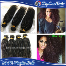 wholesale human hair extensions High quality kinky curly virgin remy hair weave afro kinky human hair