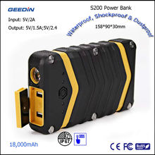 new innovative products 2015,waterproof power bank,china electronics market by Geedin