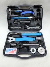17pcs professional bicycle repairing tool box/tool kit/work-box
