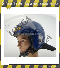 High strength and new design safety helmet used in open face helmet