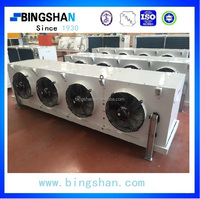 Water defrost stainless steel tube epoxy coated Fin two fans Beautifui designed Air Cooler