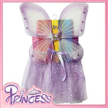 MPS-1010 Lavender tutu dress for girls carnival fairy dress butterfly wing sets