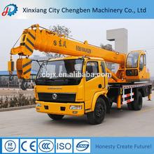 Amplio uso chino bajo precio grúa hidráulica para camiones